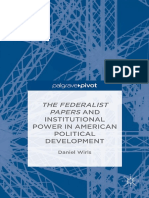 Daniel Wirls Auth the Federalist