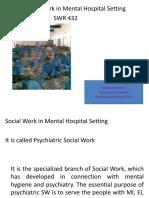 SWR 421 Psychiatric