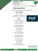 Korea Muslim Tour