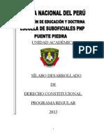 Silabus de Derecho_constitucional is 2013