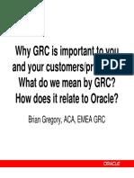 Oracle GRC