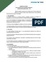 Edital Mestrado Academico 2019 Valido
