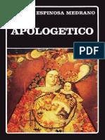Apologético. Juan de Espinosa Medrano.