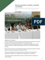 23-08-2018 - Capacitan a Alcaldes Para Aprender a Solicitar y Extender Recursos Para Sus Municipios - Elimparcial