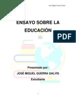 Ensayo Sobre La Educación