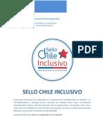 Documento Complementario Inclusión Laboral Sello Chile Inclusivo 2017