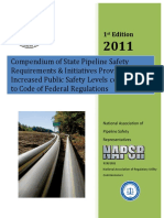 Compendium Pipeline Safety Requirement - NAPSR