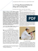 Questionnaire of Using Humanoid Robot for Teaching and Learning Kids