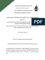 COLOIDES DE ASOCIACIÓN, DETERMINACIÓN CONDUCTIMÉTRICA DE LA CONCENTRACIÓN MICELAR CRÍTICA