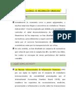Normas Internacionales de Información Financiera.