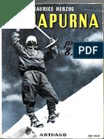 Maurice Herzog - 1951 - Annapurna premier 8000 - Français