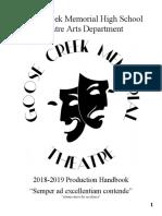 gcm theatre handbook 2018