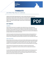 2018 - Climate Threats 1 Pager
