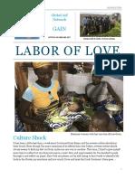 Benin Newsletter 8-25-18