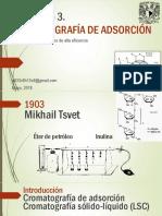 CROMATOGRAFÍA DE ADSORCIÓN HPLC