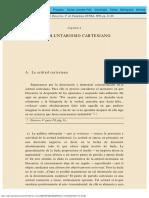 Descartes - Capitulo I
