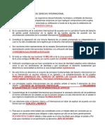 Primer Examen Parcial de Derecho Internacional