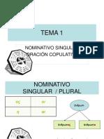 144009 Tema 1 Nominativo Singular y Plural