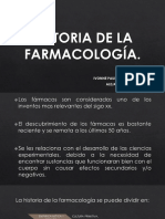 Historia de la farmacología.
