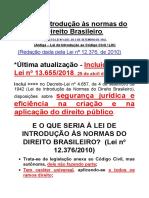 Apostila - LINDB