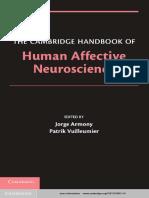 Human Affective Neuroscience (The Cambridge Handbook of)