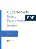 Cybersecurity Policy Framework