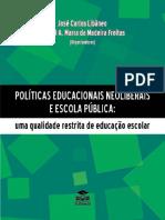 Políticas Educacionais Neoliberais e Impacto Nas Escolas