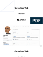Ownerless Web