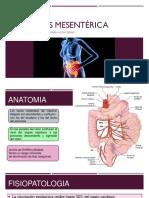 Trombosis mesentérica