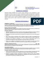 Vice président opération, directeur, curriculum vitae, CV, à Montréal, rive-sud, Québec