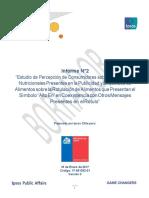 Informe IPSOS Investigacion Cualitativa Alimentos