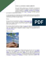 Introduccion a La Ecologia y Medio Ambiente