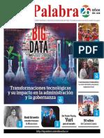 LA  PALABRA No. 296. Septiembre 2018.  Periódico Cultural de la Universidad del Valle