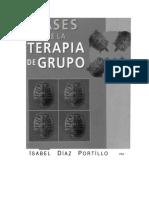 Díaz Portillo, Isabel - Bases de la terapia de grupo.pdf
