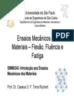 Aula 8 Ensaio Flexao_Fluencia_Fadiga.pdf