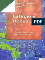 Estágio e Docência - Selma Pimenta e Maria Lima - Livro