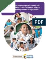 Orientaciones Generales Escuela Familia Nee