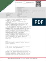 DL 604 - Prohibe El Ingreso Al Territorio Nacional