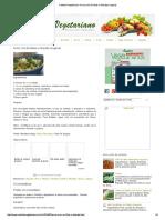 Cantinho Vegetariano_ Arroz Com Ervilhas e Abacate (Vegana)