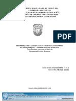 DESARROLLO DE LA COMPETENCIA COMUNICATIVA ESCRITA EN NIÑOS SORDOS Y CON DEFICIENCIAS AUDITIVAS