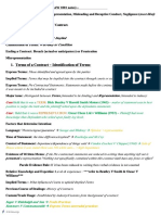 7799_Final Exam Notes Commercial Law
