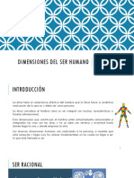 Dimensiones Del Ser Humano 2