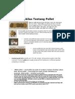 Process Produksi WOOD PELLLET