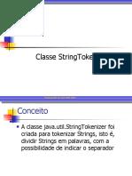 3 - StringTokenizer