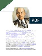 Biografía de Lenin