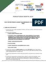 Pendaftaran Online SBMPTN 2018 TATA TERTIB.pdf