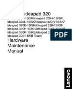 Manual Hardware Notebook