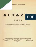 Vicente Huidobro - Poemas Altazor.pdf