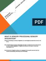 Sensory Processing Powerpoint