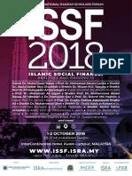 ISSF2018 Brochure